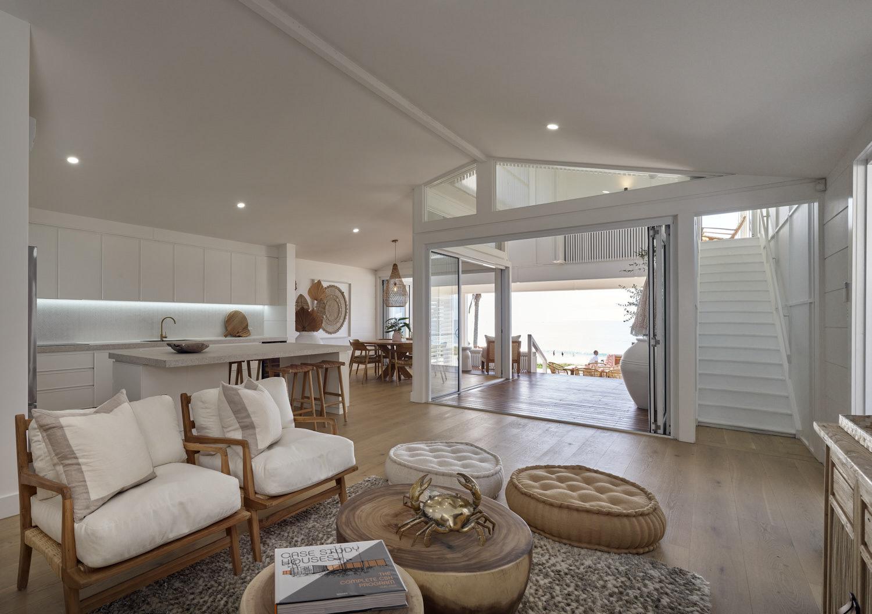 Beach Bungalow open plan living
